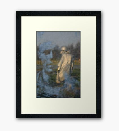 Reflecting Framed Print
