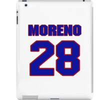 National baseball player Omar Moreno jersey 28 iPad Case/Skin