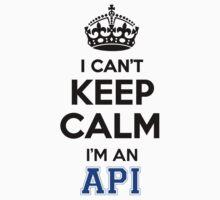 API cant keep calm Im an API by icant