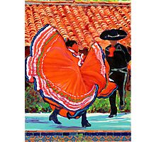 Spanish Dancers in Old Town San Diego by RD Riccoboni Photographic Print