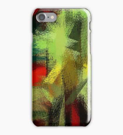 Colorful Painting Abstract Background #3 iPhone Case/Skin