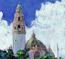 The California Building and Bell Tower by RD Riccoboni by RDRiccoboni