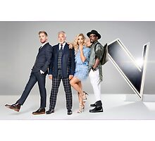 The Voice UK 2015 Judges by realitybox
