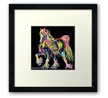 Cob Of Colours Framed Print