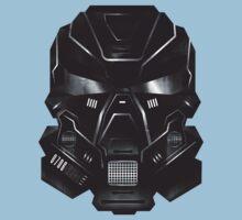 Black Metal Future Fighter Sci-fi Concept Art Baby Tee