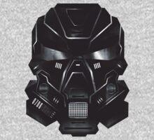 Black Metal Future Fighter Sci-fi Concept Art Kids Clothes