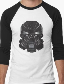 Black Metal Future Fighter Sci-fi Concept Art Men's Baseball ¾ T-Shirt