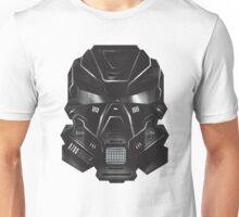 Black Metal Future Fighter Sci-fi Concept Art Unisex T-Shirt