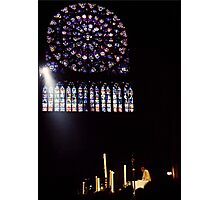 Easter Service at Notre Dame Photographic Print