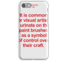 Artist Secret #14 iPhone Case/Skin