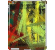 Colorful Painting Abstract Background #4 iPad Case/Skin