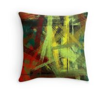 Colorful Painting Abstract Background #4 Throw Pillow