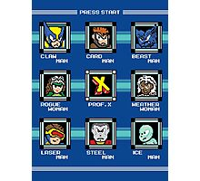 Mega X-Man Photographic Print