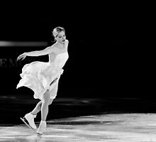 Carolina Kostner by Luca Renoldi