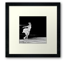 Carolina Kostner Framed Print