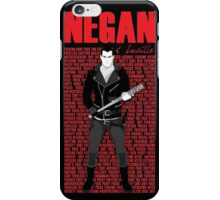 The Walking Dead - Negan & Lucille 5 iPhone Case/Skin