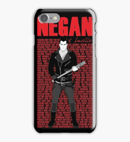 The Walking Dead - Negan & Lucille 5 iPhone Case/Skin