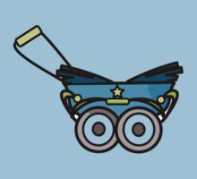 BABY PRAM STROLLER CARRIAGE RETRO by SofiaYoushi