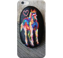 Rock'N'Ponies - LITTLE TOBIANO PONY iPhone Case/Skin
