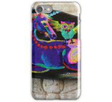 Rock'N'Ponies - SPIKE & THE HOOTOWL iPhone Case/Skin