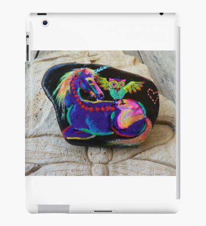 Rock'N'Ponies - SPIKE & THE HOOTOWL iPad Case/Skin
