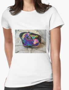 Rock'N'Ponies - SPIKE & THE HOOTOWL Womens Fitted T-Shirt