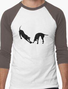 STRETCHING DOGS Men's Baseball ¾ T-Shirt