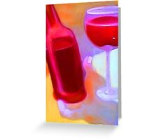 Wine Tasting  Greeting Card
