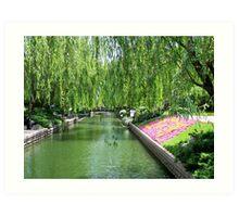 Forbidden City Park, Beijing Art Print