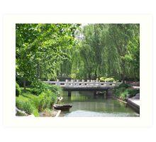 Forbidden City Park 2, Beijing Art Print