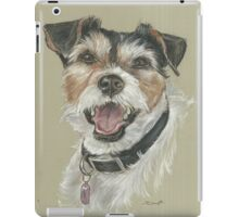 Terrier portrait iPad Case/Skin