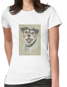 Terrier portrait Womens Fitted T-Shirt
