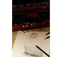Drawing Francesca Photographic Print
