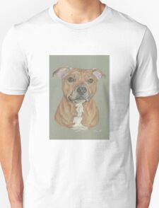Terrier portrait in pastel Unisex T-Shirt