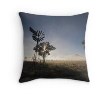 Outback Sunrise Lightshow Throw Pillow