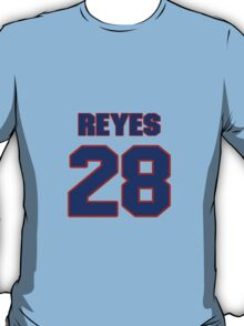 National baseball player Alberto Reyes jersey 28 T-Shirt