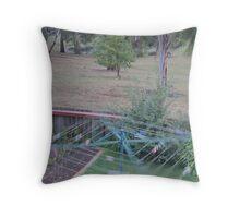 An Aussie Windmill Throw Pillow