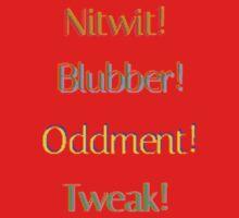 Nitwit! Blubber! Oddment! Tweak! One Piece - Short Sleeve