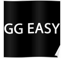 GG EASY - League of Legends Poster