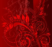 red grunge by VioDeSign