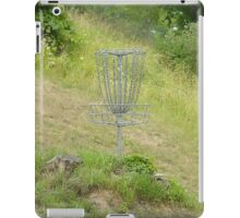 Chains of A Disc Golf Basket iPad Case/Skin