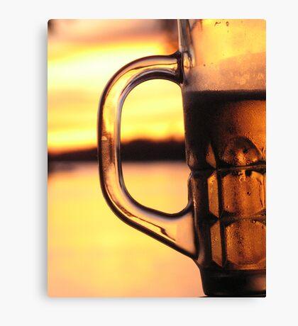 Beer Lao Canvas Print
