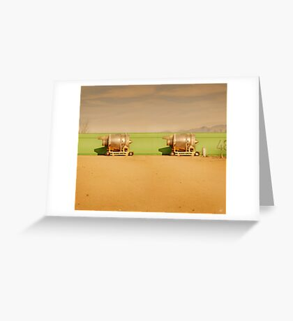 Twin Engines Greeting Card