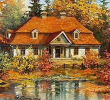 oil painting by canvasstore