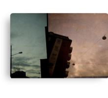 looking up at dusk - malmo Canvas Print