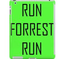 RUN FORREST RUN iPad Case/Skin
