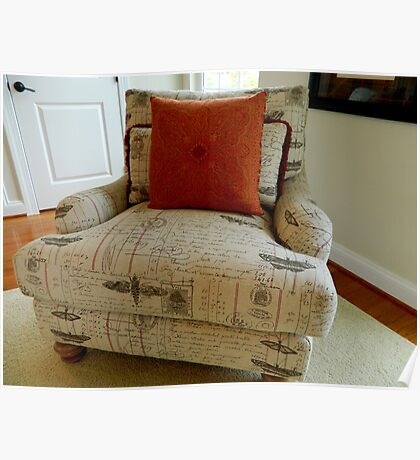 Comfy  Chair       ^ Poster