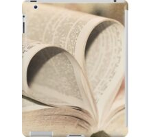 Pages of Love iPad Case/Skin