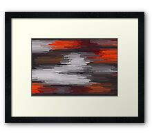 Colorful Painting Abstract Background #8 Framed Print