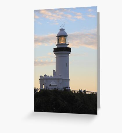 Byron Light Greeting Card